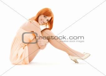 tall redhead
