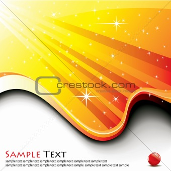abstract background / vector illustration / futuristic design