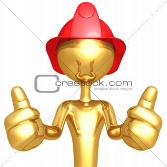 Fireman Two Thumbs Up