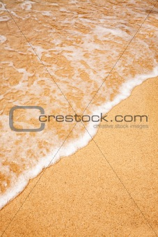 Wave Sand Background