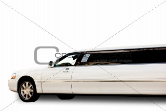 Isolted Limousine