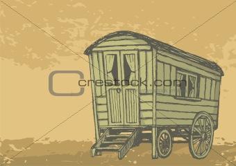 Gypsy caravan wagon