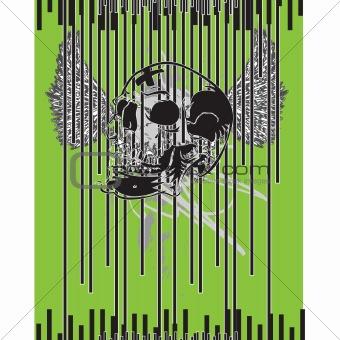 Skull Tshirt Banner