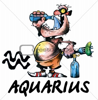 Aquarius illustration