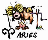 Aries illustration