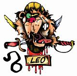 Leo illustration