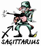 Sagittarius illustration