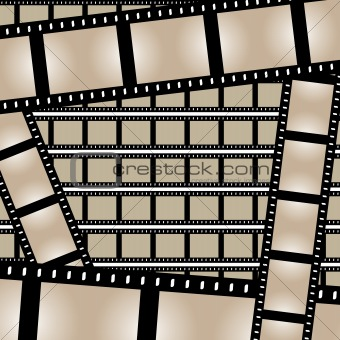 Films Strips Vector