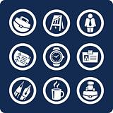 Business and Office vector icons (set 5, part 1)