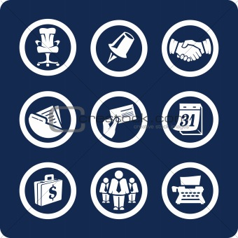 Business and Office vector icons (set 5, part 2)