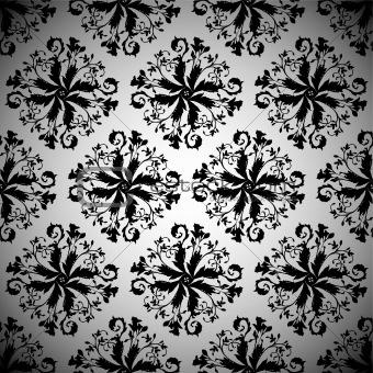 black wallpaper repeat