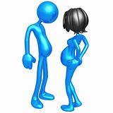 Pregnancy Empathy Weight Gain