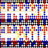 harlequin checks pattern