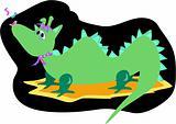 Dragon Howls a Tune