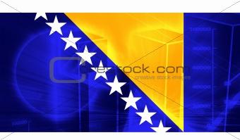 Flag of Bosnia Hertzigovina