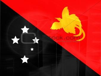Flag of Papua New Guinea