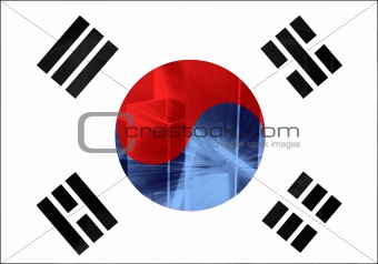 Flag of South Korea