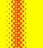 bright retro pattern