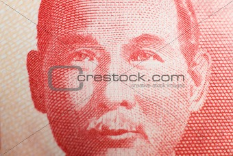 Asia money portrait.