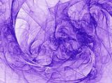 Abstract Vivid Purple Design