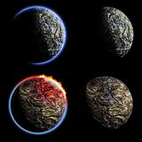 Iron planets collection
