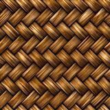 Seamless rattan weave background