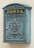 Retro stylized postbox
