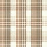 Seamless checked beige pattern