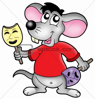 Caroon mouse actor