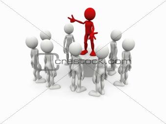 3d leader dialog