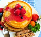 Pancakes breakfast