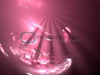 Abstract background. Pink - white palette.
