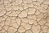 Dry Mud Cracked Desert Ground Background Pattern