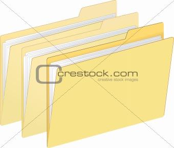 Three File Folder
