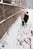 winter walking
