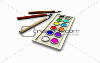 3D Colors and Brushes