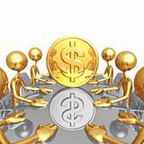 Gold Dollar Coin Meeting