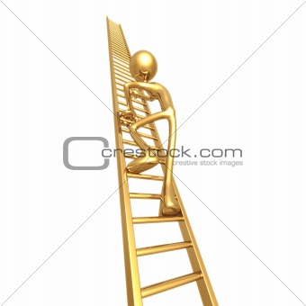 Climbing Golden Ladder