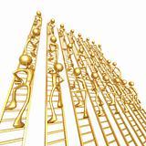 Ladder Climbing Crowd