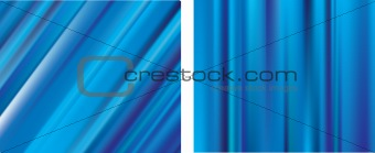 Blue lines gradient mesh blur backgrounds