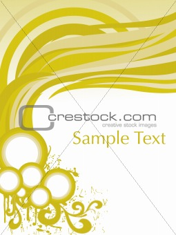 abstract arch pattern card