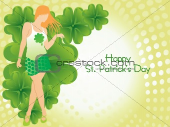 beautiful design st. patrick's picture with girls 17 march