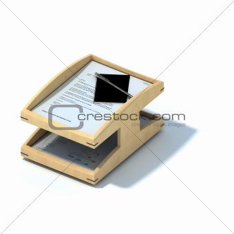 Business folder