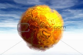 3D Sun Spot