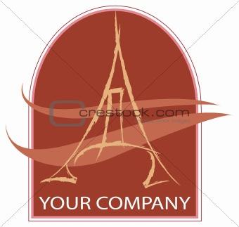 A eiffel logo