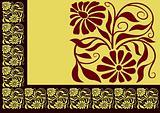 Floral border 01