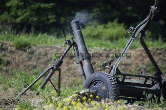 120 mm mortar