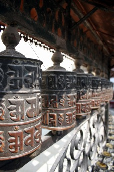 Prayer Wheels - Nepal