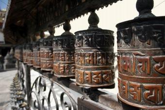 Prayer Wheels - Nepal