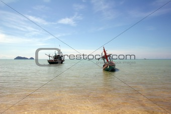 Fishing Boats - Thailand